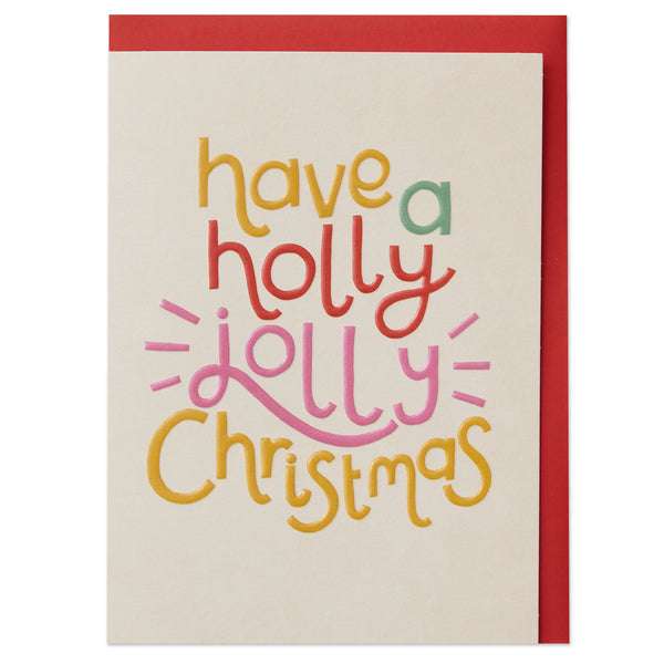 'Have a Holly Jolly Christmas' Card