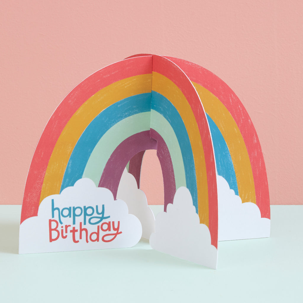 Happy Birthday - Rainbow