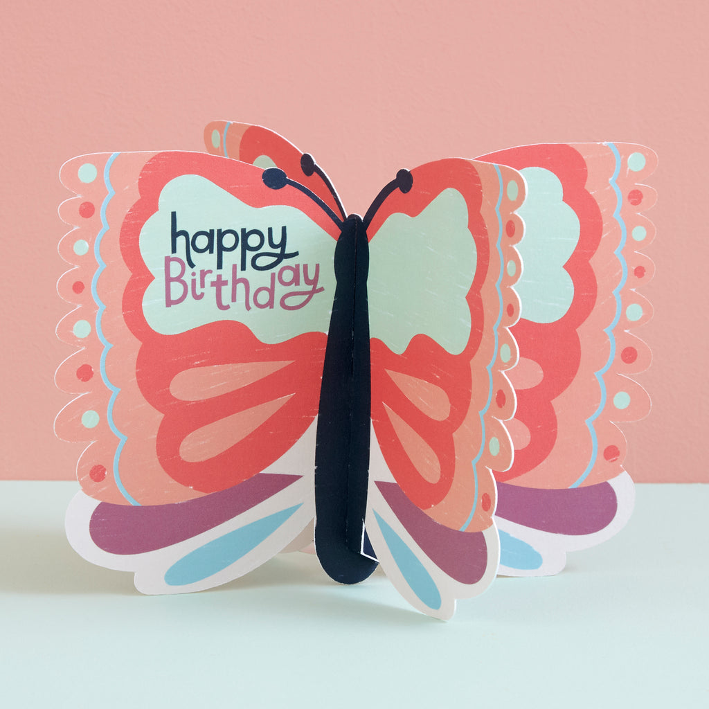 Happy Birthday - Butterfly