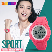 Load image into Gallery viewer, Women Watches Ladies SKMEI 3D Pedometer LED Digital Watch Girls Fashion Casual Clock Outdoor Sports Wristwatches montre femme