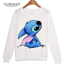 Load image into Gallery viewer, Women Plus Size Casual sudaderas mujer Cartoon Printed Harajuku hoodies femme Sweatshirts WMH04