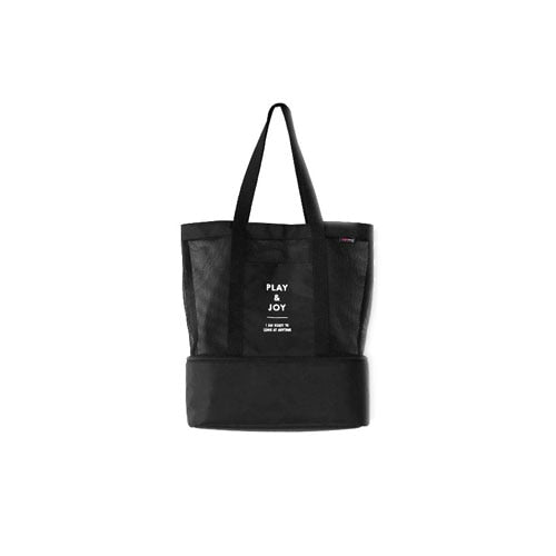 1041b62116c5 Womens Large Capacity Casual Totes Unique Double Layers Black Polyester  Shoulder Bags