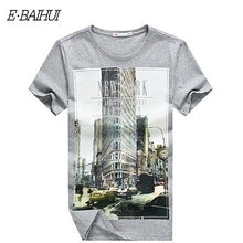Load image into Gallery viewer, E-BAIHUI  mens t shirts marcelo burlon t shirt  casual tops tees Fitness Men cotton T-shirts Camisetas  Swag t shirt homme  Y050