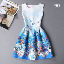 Load image into Gallery viewer, Ukraine Vestidos New Spring Summer Autumn Dress Women Sleeveless Printing Sweet Sexy Tank Dress Robe Femme Party Dresses C3014