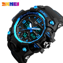 Load image into Gallery viewer, Men Watches Military Sports Watch Men Top Brand Luxury SKMEI Men's Quartz Digital Casual Outdoor 50M Waterproof Wrist Watch
