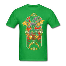 Load image into Gallery viewer, Epic Super Metroid Men Tee Shirts rock printer Green Tees for Adult Natural Cotton Funky Metroid Prime t-shirts