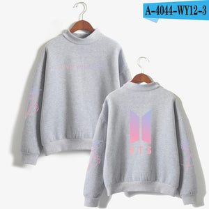 BTS  Love Yourself k pop Women Hoodies Sweatshirts Hoodies outwear Hip-Hop Bangtan boys jimin Clothes
