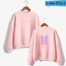 Load image into Gallery viewer, BTS  Love Yourself k pop Women Hoodies Sweatshirts Hoodies outwear Hip-Hop Bangtan boys jimin Clothes