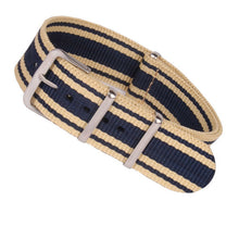 Load image into Gallery viewer, MR NENG Brand New nato strap 18mm 20mm 22mm watch band Nylon Watch Bracelet Strap Wristwatch Band Buckle Canvas fabric watchband