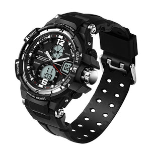 SANDA G Waterproof Alarm Mens Watches Top Brand Luxury S-SHOCK Digital Led Sports Watch Men Clock Wristwatch Relogio Masculino