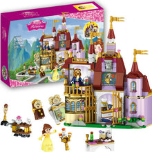 Load image into Gallery viewer, 37001 Princess Belles Enchanted Castle Building Blocks for Girl Friends Kids Model Marvel Compatible with Legoe Toys Gift