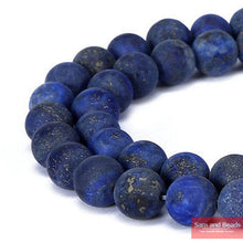 Load image into Gallery viewer, Dull Polish Matte Tiger eye Lapis Lazuli Turquoises agata Beads in Froested Style 4-12MM Pick Size For Jewelry Making MM01
