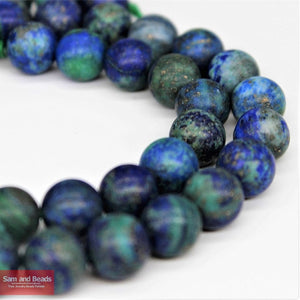 Dull Polish Matte Tiger eye Lapis Lazuli Turquoises agata Beads in Froested Style 4-12MM Pick Size For Jewelry Making MM01