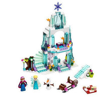 Load image into Gallery viewer, 316pcs Dream Princess Castle Elsa Ice Castle Princess Anna Set Model Building Blocks Gifts Toys Compatible with Legoe Friends