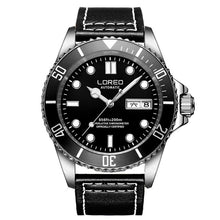 Load image into Gallery viewer, LOREO Mens Watches Top Brand Luxury Sapphire Diving 200M Luminous Watch Men Seagull movement Automatic Mechanical Wrist watches