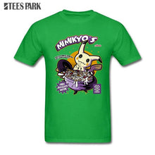 Load image into Gallery viewer, T Shirt For Men's Mimikyo Pocket Monster Pokemon Pikachu T Shirt Man Round Collar Short Sleeve T Shirts Hot Sale Men's T Shirt