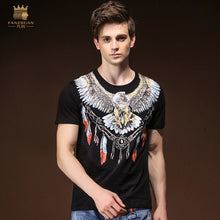 Load image into Gallery viewer, FANZHUAN Brands Clothing 2018 New Summer Men'S T-Shirt Personality Baroque Animal Print Thin Short-Sleeved T-Shirt Men 825118