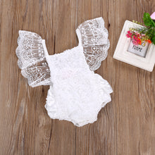 Load image into Gallery viewer, 2PC Toddler 0-24M Newborn Baby Girls SET GIRLS Floral bodysuit bebe Sunsuit  1pcs Outfits Girls Clothes Set