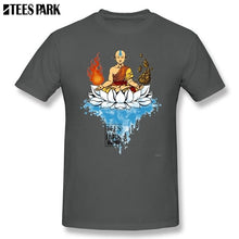 Load image into Gallery viewer, Avatar The Last Airbender Legend T Shirt Man O-Neck Short Sleeve Cartoon Movie T Shirt Wholesale Men's Cartoon Funny Pictur Tees