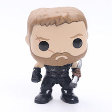 Load image into Gallery viewer, Marvel Avengers 3 Infinity War Thanos Action Figure Thor Toy Iron Man Spiderman Captain America Black Panther Doll With Box 10cm