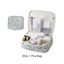 Load image into Gallery viewer, Women Flamingo Cosmetic Bag Makeup Case Dustproof Beauty Toiletry Storage Pouch Wash Box Suitcase Organizer Travel Necessary