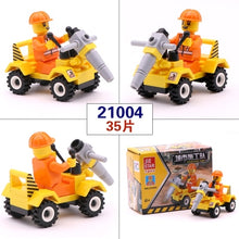 Load image into Gallery viewer, [New] City Series Police Car Fighter mini Educational Building Blocks Toys Compatible With legoingly City