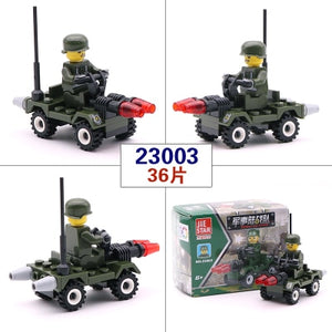 [New] City Series Police Car Fighter mini Educational Building Blocks Toys Compatible With legoingly City