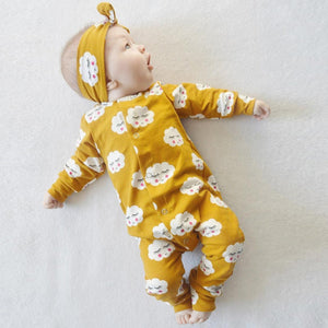 Cloud pattern baby girl romper Cotton Baby Clothes Autumn new born baby clothes Long Sleeve boy clothes Infant Baby Girl Clothes