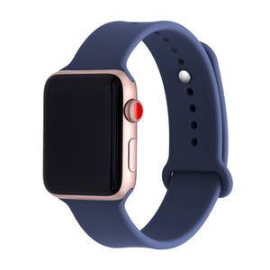Silicone band For Apple watch series 3 2 1 correa aple watch 42mm 38mm sport rubber strap bracelet wrist belt Iwatch accessories