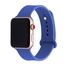 Load image into Gallery viewer, Silicone band For Apple watch series 3 2 1 correa aple watch 42mm 38mm sport rubber strap bracelet wrist belt Iwatch accessories