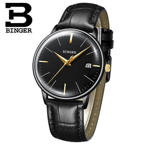 New BINGER Mechanical Watch Men Brand Luxury Men's Automatic Watches Sapphire Wrist Watch Male Waterproof Reloj Hombre B5078M-5