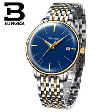 Load image into Gallery viewer, New BINGER Mechanical Watch Men Brand Luxury Men's Automatic Watches Sapphire Wrist Watch Male Waterproof Reloj Hombre B5078M-5