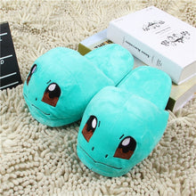 Load image into Gallery viewer, Women Anime Cartoon Pokemon Slippers Lovers Warm Woman Slippers Elf Ball Pikachu Go Plush Shoes Home House Slippers Children
