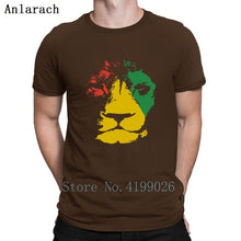 Load image into Gallery viewer, Jamaica Lion Mens Reggae Jamaican Music T-Shirt Clothes Printed T Shirt For Men Size S-3xl Pattern Slim Fit Summer