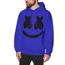 Load image into Gallery viewer, Marshmello Hoodie Marshmello Face Hoodies Male Long Pullover Hoodie Cotton Large Streetwear Autumn Blue Stylish Hoodies