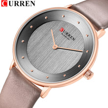 Load image into Gallery viewer, Beautiful Women's Quartz Watches Slim Fashion Leather Ladies Wrist Watch Reloj Mujer CURREN Hot Female Clock Gifts For Women