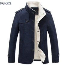 Load image into Gallery viewer, FGKKS 2017 Men's Winter Jacket Fashion Windbreaker Quality Military Men Jacket Coat Brand men Clothing