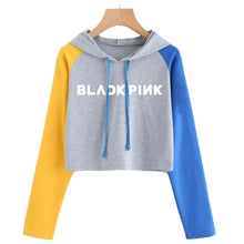 Load image into Gallery viewer, Bts Blackpink Exo K Pop Fashion Hoodies For Women Got7 Seventeen Monsta X Autumn Hoodie Wanna One Twice Idol Sweatshirt Female