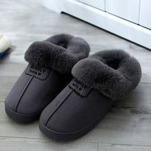 Load image into Gallery viewer, Cotton Slippers Women Winter Soft Bottom Anti-skid Indoor Warm Slippers Fashion Lover Comfortable Thick Cotton Slippers 35-46