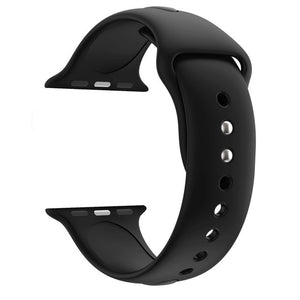 ASHEI Silicone Strap for Apple Watch Band Series 4 40mm 38mm 42mm Soft Sport Wristband for iWatch Bands Series 3/2/1 Strap