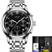 Load image into Gallery viewer, 2018 New Watches Men Luxury Brand LIGE Chronograph Men Sports Watches Waterproof Full Steel Quartz Men's Watch Relogio Masculino