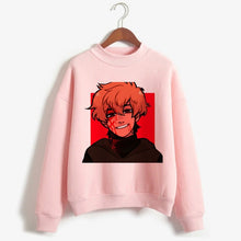 Load image into Gallery viewer, Riverdale Sweatshirts Women Pink South Side Serpents Hoodies Pullover Long Sleeve Korean Sweatshirt Casual Turtleneck Clothes