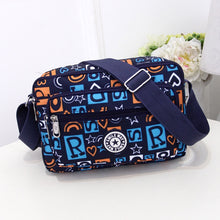 Load image into Gallery viewer, Women Fashion Solid Color Zipper Waterproof Nylon Shoulder Bag Female Crossbody Bag Ladies Bolsa Feminina Waterproof Travel Bag