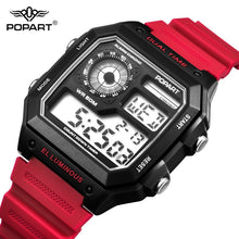 Load image into Gallery viewer, POPART LED Digital Watch Men Waterproof Sport Clock Men's Wristwatches Fashion Male Watches Mens Luxury Brand Relogio Masculino