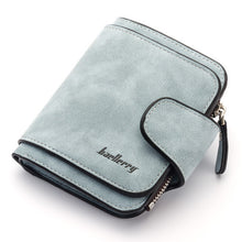 Load image into Gallery viewer, Women Wallets Slim Wallet For Credit Card Fashion Portefeuille Femme Leather Culutch Ladies Long And Short Wallet Coin Purse