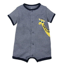 Load image into Gallery viewer, 2019 Summer baby boys clothes cotton Jumpsuit Short sleeve Roupas Menino for Baby Boy Body suits , 0-24M kids rompers