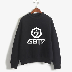 2019 BTS Hoodies women got7 monster x sweatshirts with hood k pop Hoodie twice New kpop Ladies female exo  blackpink