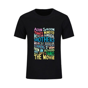 Rick and Morty Two Brothers Handlettered Quote Tshirt Man ahegao Custom Male T-shirt Camisetas Big Size xl rick y morti monsta x