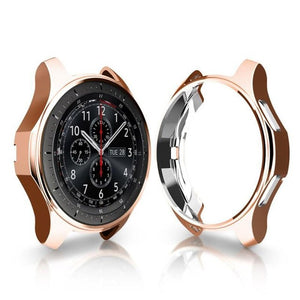 TPU Scratch-resistant Flexible Soft Case Slim Lightweight Protective Bumper Cover for Samsung Gear S3/Galaxy Watch 46/42mm
