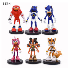 Load image into Gallery viewer, 6Set Sonic Action Figure Cute Anime Sonic Boom Rare Dr Eggman Shadow PVC Collectible Model Doll Toys Gift For Kids